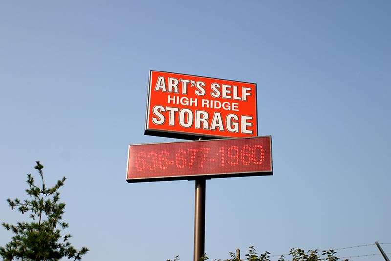 ART'S HIGH RIDGE SELF STORAGE